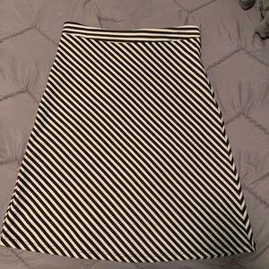 Renee C striped Skirt